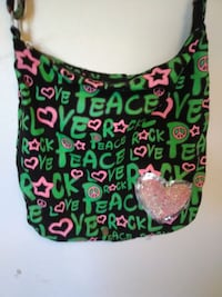 Love, Peace, Rock Bag/Purse Tulsa