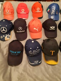 Nascar collectors authentic hats
