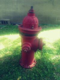 Real fire hydrant