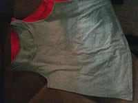 two gray and red crew neck sleeveless tops Piqua, 45356