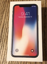 Brand New Apple IPhone X (Space Grey) 256 GB Mississauga