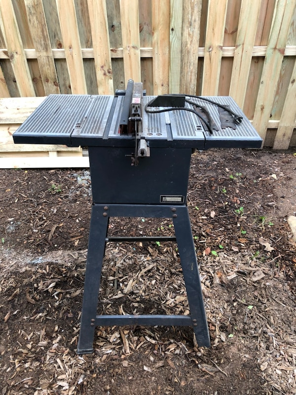 8 Inch Direct Drive Craftsman Table Saw