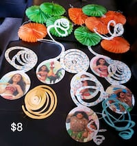 Moana Party decorations - $8 Toronto, M9B 6C4