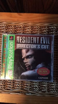 PS1 resident evil director's cut Omaha, 68104