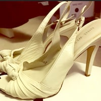 Nine West Ivory Rose Knotted Sling Backs size 8 Waynesboro, 17268