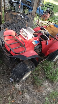 red and black Honda ATV Warner Robins, 31088