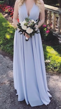 Luxury Chiffon Bridesmaid Dress Jenny Woo Toronto, M4B 2B3