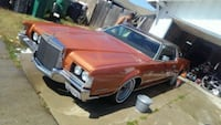 1972 Lincoln Continental Mark IV Los Angeles
