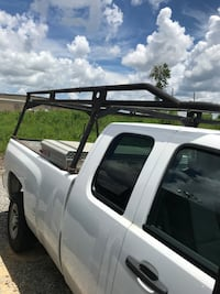 Extended cab latter rack. Heavy gauge round steel. Fits 8' bed