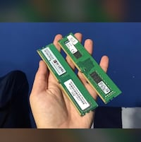 8 gb DDR4 2400mhz 2 adet mevcuttur