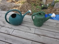 2 Large 2 Gallons Watering Cans Winnipeg