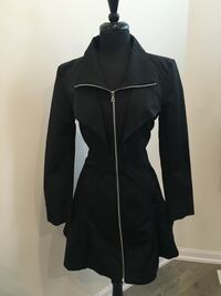 New beautiful Bebe flared coat size L