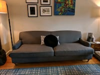 Mid century modern linen Sofa for sale Arlington, 22206