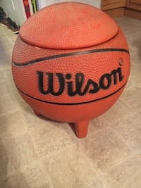 Giant basketball toy box