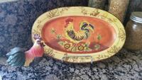Plate rooster decorative Moreno Valley, 92557
