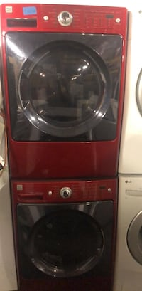 red and gray front-load washing machine Hayward, 94544