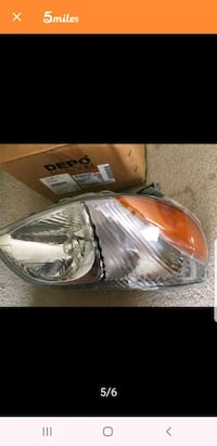Toyota echo Front right Light  Olney