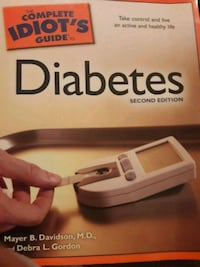 Complete Idiots Guide to Diabetes  Amarillo, 79110