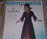 Girls vampire costume size 10 League City, 77573