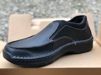 Red Wing Black Leather Slip On Shoes Rev 1 New Size 9 D