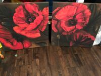 2 Canvas paintings.  Keizer, 97303