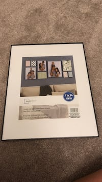 11x14 Matted to 8x10 Black Picture Frame Gurnee, 60031