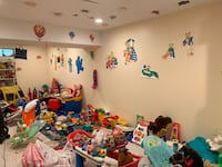 Tons of toys and stuff from home day care provider Herndon, 20170