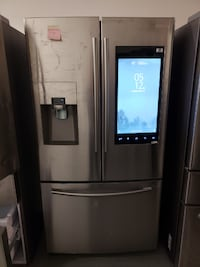 SAMSUNG REFRIGERATOR FRENCH DOORS WITH FAMILY HUB Garden Grove