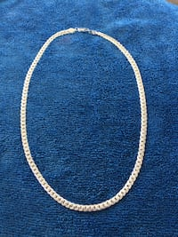 "Sterling Silver Necklace. Size 20"". Brand New. SPRUCEGROVE"