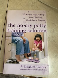 The No-cry Potty Training Solution by Elizabeth Pantley book