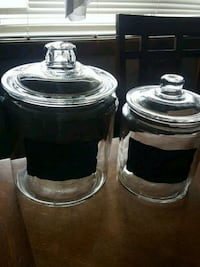 two clear glass mason jars Vancouver, 98664