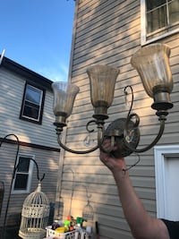Chandelier and 2 scone lights matching set Baltimore, 21224