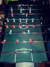 blue and green foosball table/air hockey table Columbus, 43204