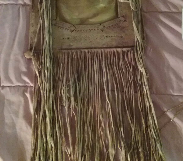 Old hand made cammel hide from middle east, date i Victoria
