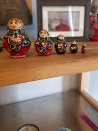 Russian Nesting Doll Dolls - Hand Painted in Russia