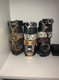 DESIGNER BELTS AND WALLETS