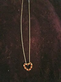 Heart necklace  Aston, 19014