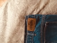 blue and brown denim bottoms null, T0J