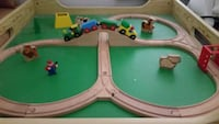 Wooden Train Set with Table and drawer  Vaughan, L4J 5W3