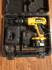 Yellow and black dewalt cordless power drill Manassas, 20112