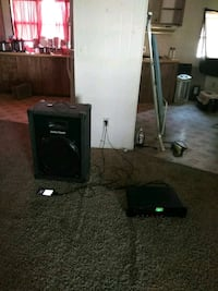 black CRT TV with TV stand Nampa, 83687