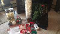 Christmas garland and various other Christmas decorations, take it all for $30 Edmonton, T5H 3N4