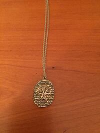 Gold Tree of Life Necklace Asheville, 28806