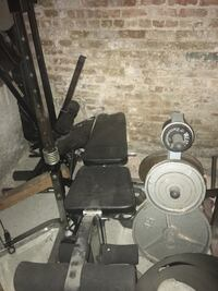 black and gray exercise gym equipment Chicago, 60647