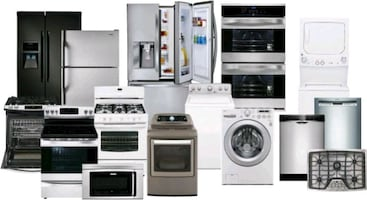 Appliances  Refrigerators , washers and dryers dishwashers gas stoves