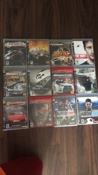 ps3 video game lot (each sold individually fof $5) Sacramento, 95826