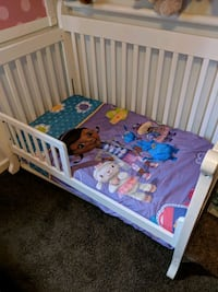 Crib/Toddler Bed with Mattress Forestville, 95436