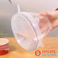 6ps reusable stretchable cover for bowl Free shipping | online brands Mississauga, L5M 0N1