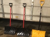 Snow shovels *GREAT CONDITION** Upper Merion, 19406