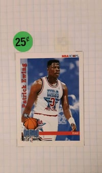 92' Hoops All-Star Patrick Ewing #297 Cherry Hill, 08034